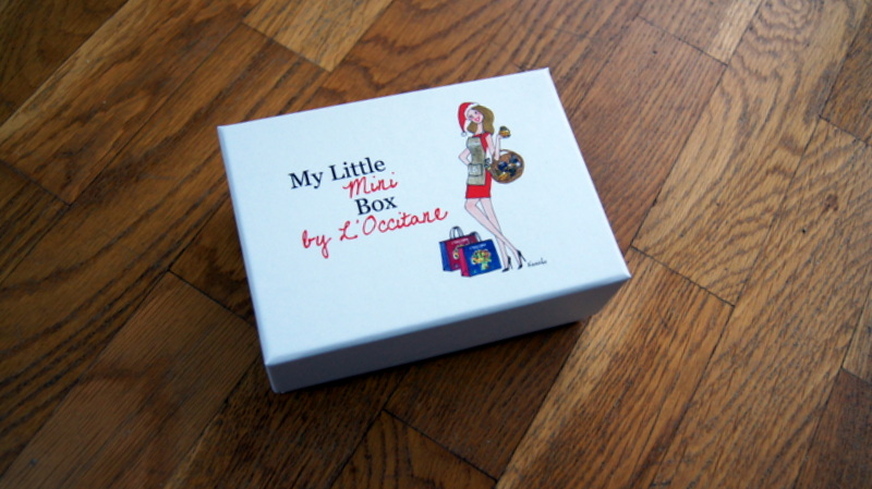 bon plan my little mini box by l 39 occitane glitter. Black Bedroom Furniture Sets. Home Design Ideas