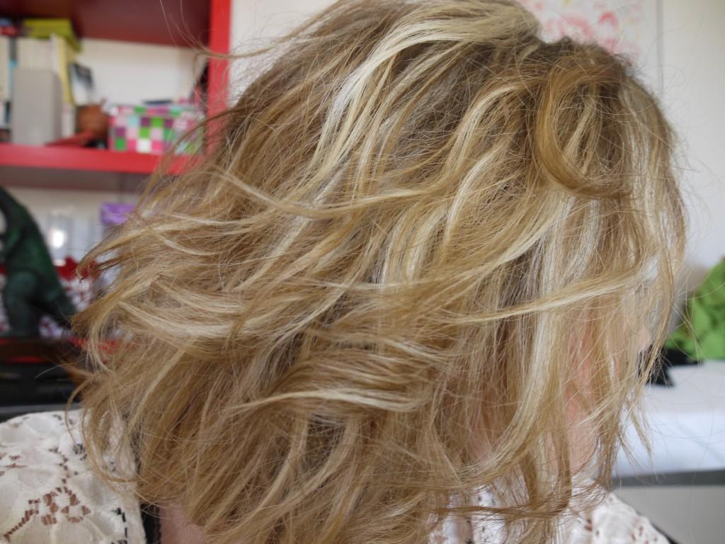 Cheveux blonds tout sur les soins que j 39 utilise pour - Meche blonde et chatain ...
